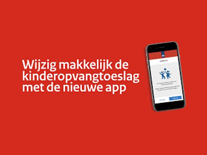 Nieuwe toeslag-app van de Belastingdienst